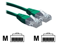 2M Green RJ45 UTP CAT 6 Stranded Flush Moulded Snagless Network Cable 24AWG LS0H