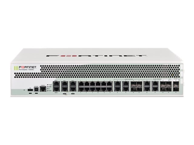 Fortinet FortiGate 1000C - security appliance - with 3 years FortiCare 24X7 Comprehensive Support + 3 years FortiGuard