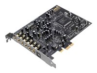 Creative Sound Blaster Audigy RX Sound card 24-bit 192 kHz 106 dB SNR 7.1 PCIe