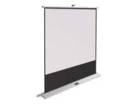Metroplan Movielux Compact Floor Screen - Projection screen with floor stand - 80 in (203 cm) - 4:3 - Matte White ***Delivery of this product is approx. 5 working days***