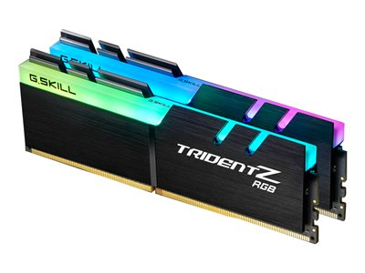 G.Skill TridentZ RGB Series DDR4  16GB kit 3200MHz CL16  Ikke-ECC