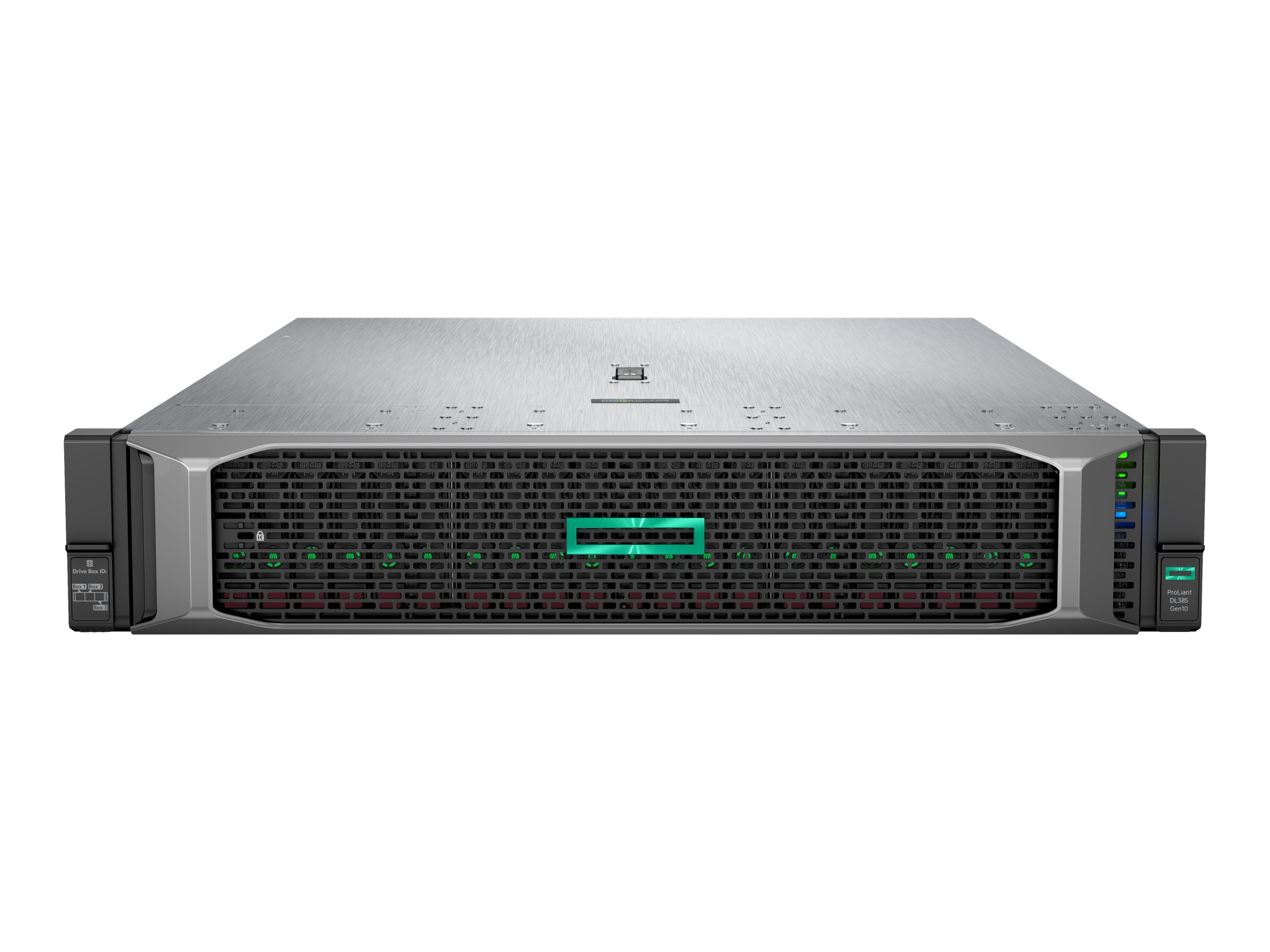 HPE ProLiant DL385 Gen10 - rack-mountable - no CPU - 0 GB - no HDD