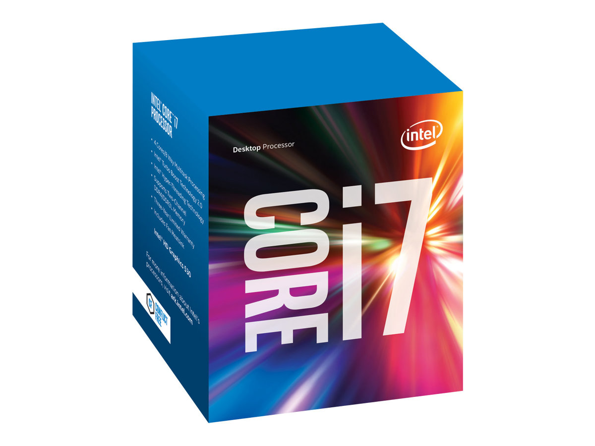 Intel Core i7 6700 - 3.4 GHz - 4 Kerne - 8 Threads - 8 MB Cache-Speicher - LGA1151 Socket