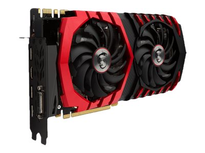 MSI GTX 1070 GAMING X 8G - Carte graphique - GF GTX 1070 - 8 Go GDDR5 - PCIe 3.0 x16 - DVI, HDMI, 3 x DisplayPort