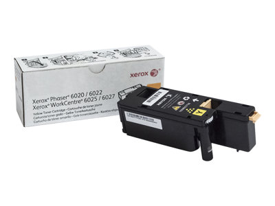 Xerox WorkCentre 6027 Yellow original toner cartridge