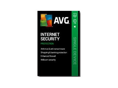 AVG Internet Security 2020 Subscription license (1 year) 1 PC download Win