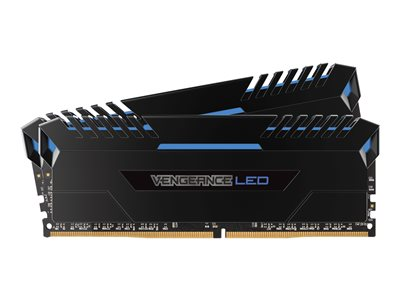 Vengeance LED - DDR4 - 32 Go: 2 x 16 Go - DIMM 288 broches