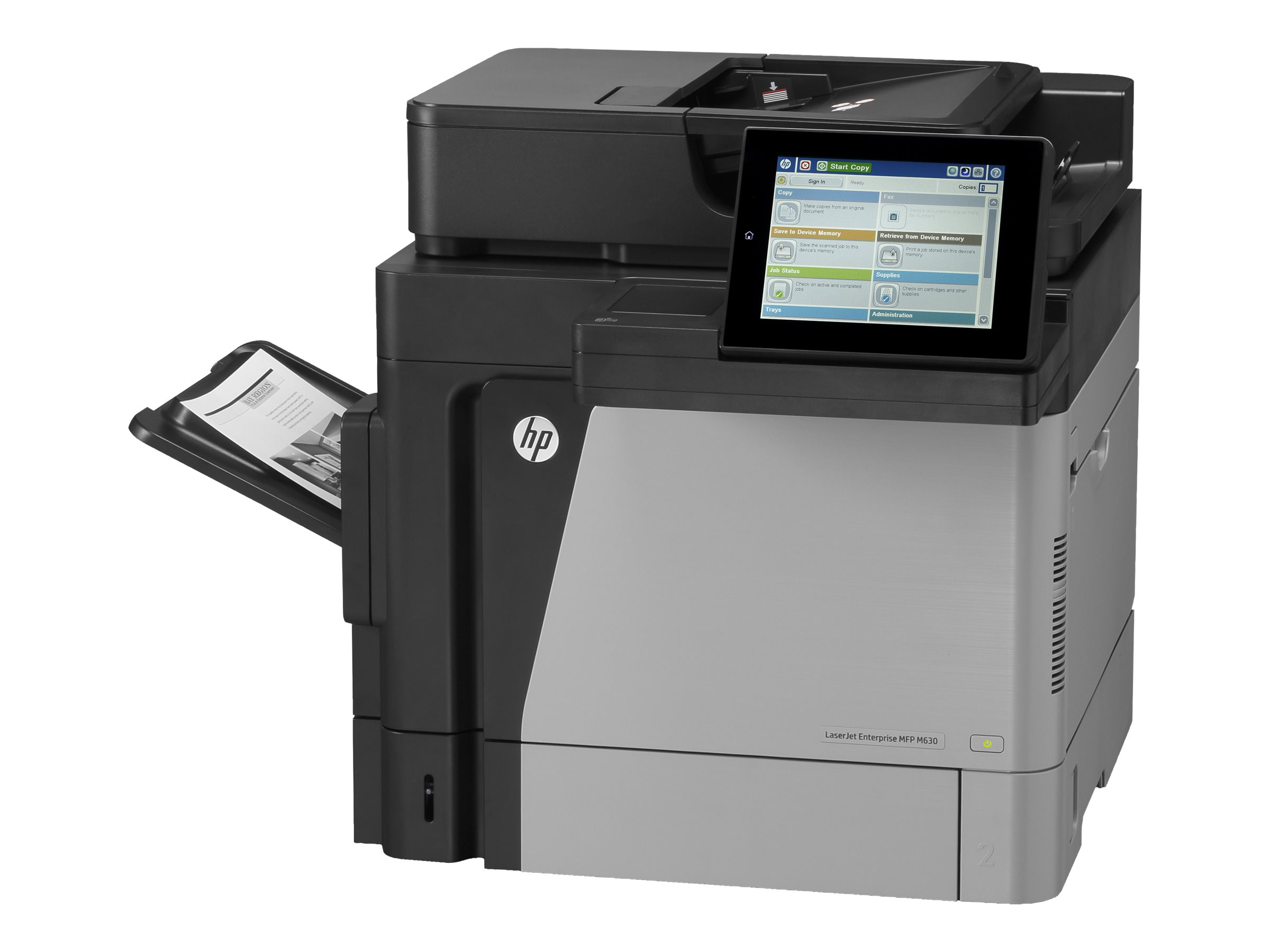 HP LaserJet Enterprise MFP M630dn - Multifunktionsdrucker - s/w - Laser - Legal (216 x 356 mm) (Original) - A4/Legal (Medien)