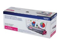 Brother TN-225M High Yield magenta original toner cartridge
