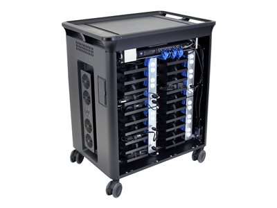 HP 20 Managed Charging Cart V2 Cart charge and management for 20 notebooks (open architecture)