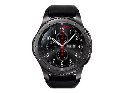 Samsung Gear S3 Frontier 46 mm Sort Smart ur