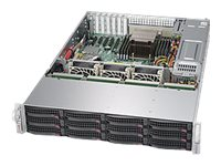 Supermicro SuperStorage Server 6028R-E1CR12L Server rack-mountable 2U 2-way RAM 0 MB