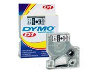 DYMO D1 - label tape - 1 roll(s) - Roll (1.27 cm x 7 m)
