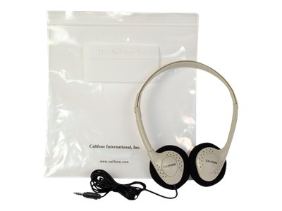 Califone CA-2 Headphones on-ear wired 3.5 mm jack