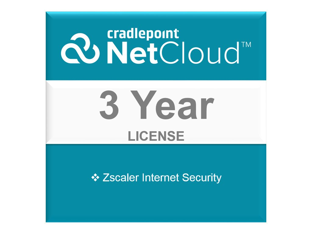 Cradlepoint Zscaler Internet Security - subscription license (3 years) - 1 device