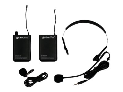 AmpliVox S1601 Lapel Microphone Pack Microphone system