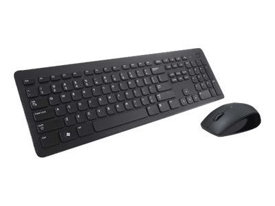 Dell KM632 Wireless - keyboard and mouse set - black