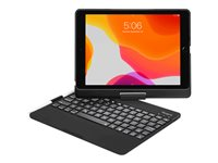 Targus VersaType Keyboard and folio case backlit wireless QWERTY black case