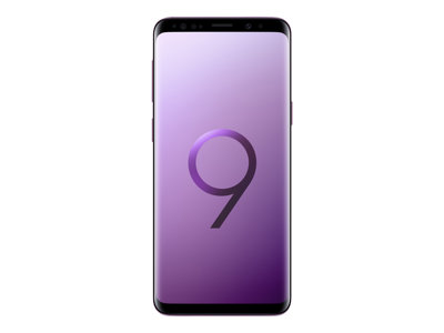 "Samsung Galaxy S9 - SM-G960F - smartphone - 4G LTE - 64 GB - microSDXC slot - TD-SCDMA / UMTS / GSM - 5.8"" - 2960 x 1440 pixels (570 ppi) - Super AMOLED - RAM 4 GB - 12 MP (8 MP front camera) - Android - lilac purple"