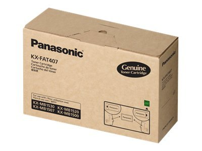 Panasonic KX-FAT407 - black - original - toner cartridge