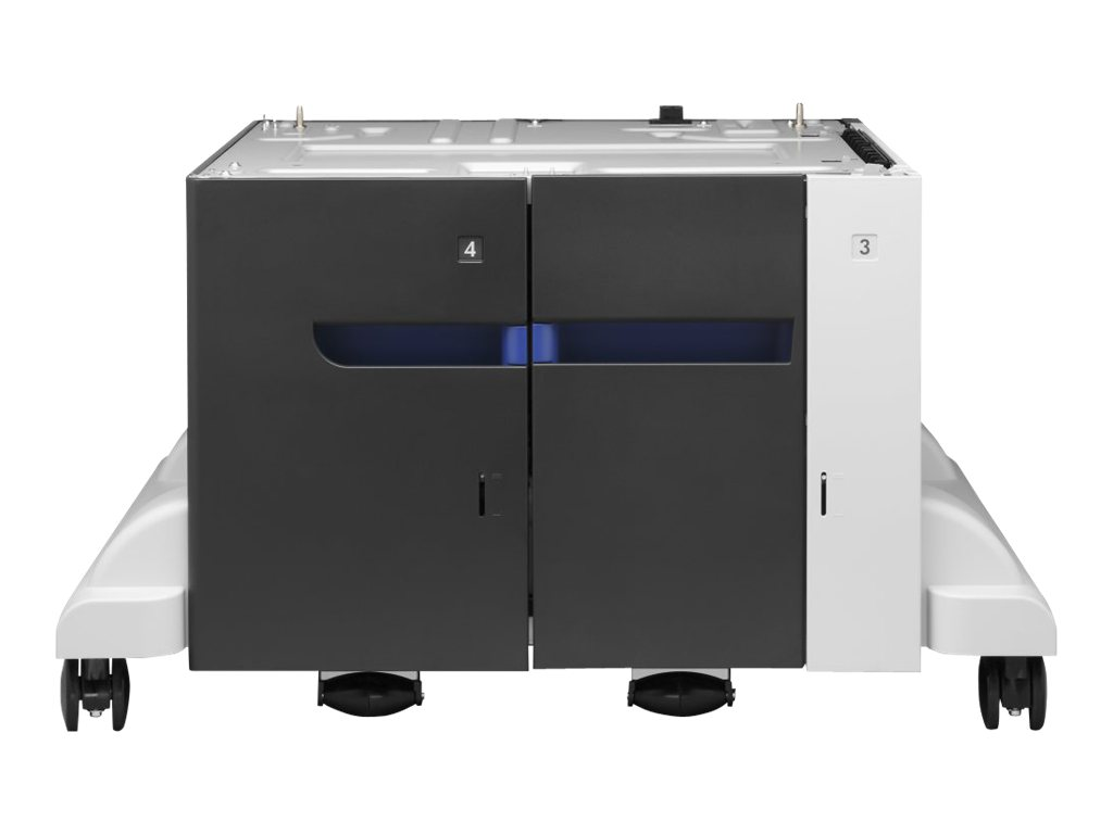 HP Paper Feeder and Stand - Druckerbasis mit Medienzuführung - 3500 Blätter in 1 Schubladen (Trays) - für Color LaserJet Enterprise M855dn, M855x+, M855x+ NFC/Wireless direct, M855xh