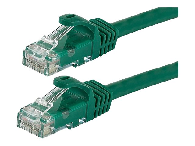 Monoprice FLEXboot Series patch cable - 3.05 m - green