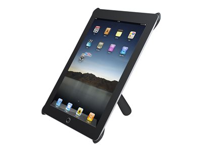 iPad2 Desk Stand (for portrait and landscape use) - Black IPAD2-DM10BLACK