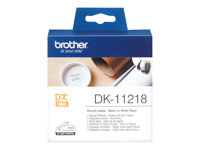 Brother DK-11218 - Black on white