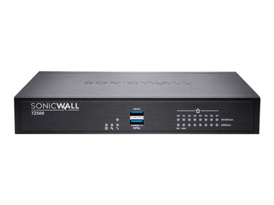 SonicWall TZ500 Security appliance with 3 years SonicWALL Advanced Gateway Security Suite