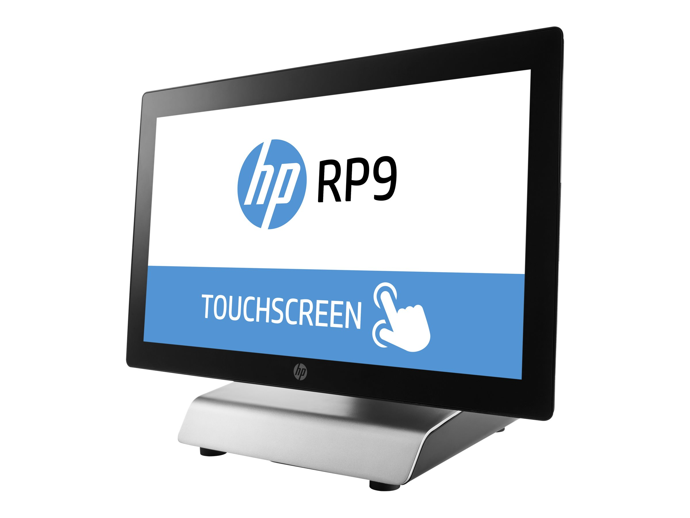 """HP RP9 G1 Retail System 9018 - all-in-one - Core i3 6100 3.7 GHz - 8 GB - 128 GB - LED 18.5"""""""