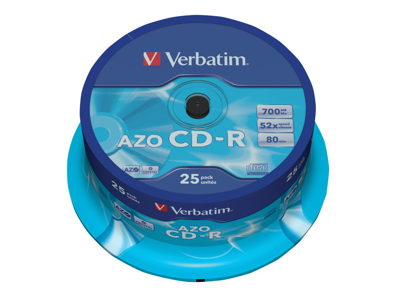 Verbatim - CD-R x 25 - support de stockage