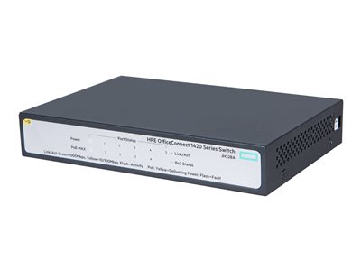 HPE OfficeConnect 1420 5G  Switch 5-porte Gigabit  PoE+