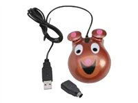 Califone Bear-themed Optical Mouse KM-BE Mouse optical wired PS/2, USB