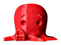 MakerBot 1 true red 2 lbs PLA filament (3D) for