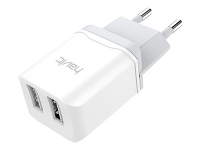 Havit 2 ports USB lader. 2.4A