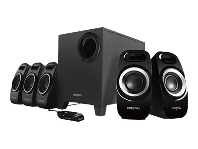 Creative Inspire T6300 Speaker system for PC 5.1-channel 57 Watt (total)