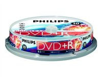 Philips DR8S8B10F 10x DVD+R DL 8.5GB