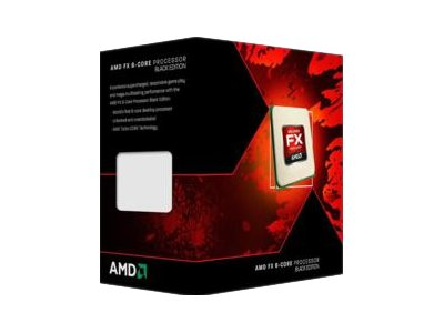 AMD Black Edition - AMD FX 9590 - 4.7 GHz - 8-Core - 8 MB Cache-Speich