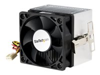 StarTech.com 60x65mm Socket A CPU Cooler Fan with Heatsink for AMD Duron or Athlon - Processor cooler - ( Socket A ) - 60 mm