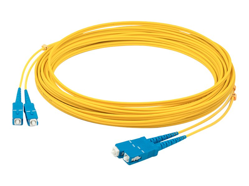 AddOn 4m SC OS1 Yellow Patch Cable - patch cable - 4 m - yellow