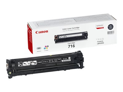 Canon 716 Black Sort 2300 sider