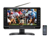 Supersonic SC-499 9INCH Class LCD TV 800 x 480 portable black