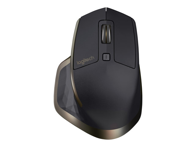 Image of Logitech MX Master - mouse - Bluetooth, 2.4 GHz - meteorite