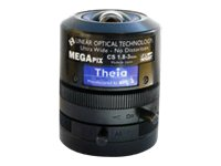 Theia Ultra Wide CCTV lens vari-focal auto iris 1/3INCH, 1/2.5INCH, 1/2.7INCH CS-mount 1.8 mm