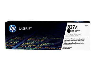 HP 827A Black original LaserJet toner cartridge (CF300A)