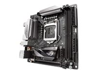 ASUS ROG STRIX Z270I GAMING - Carte-mère - mini ITX - Socket LGA1151 - Z270 - USB 3.0, USB 3.1, USB-C - Bluetooth, Gigabit LAN, Wi-Fi - carte graphique embarquée (unité centrale requise) - audio HD (8 canaux)