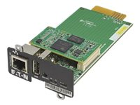 Eaton Network M2 - Carte de supervision distante - Gigabit Ethernet x 1