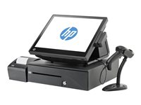 "HP RP7 Retail System 7800 - All-in-one - 1 x Pentium G850 / 2.9 GHz - RAM 2 GB - HDD 320 GB - HD Graphics - GigE - Win 7 Pro 32-bit - monitor: LED 15"" 1024 x 768 (XGA)"