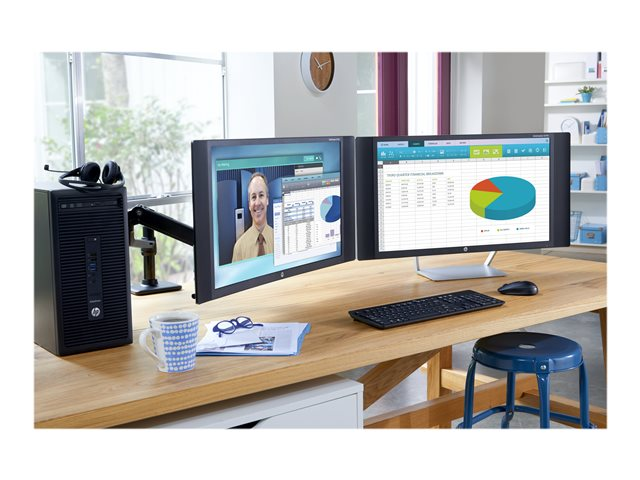 hp single monitor arm g nstig kaufen. Black Bedroom Furniture Sets. Home Design Ideas