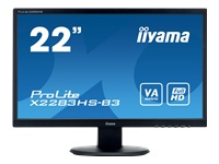 "Picture of iiyama ProLite X2283HS-B3 - LED monitor - Full HD (1080p) - 22"" (X2283HS-B3)"